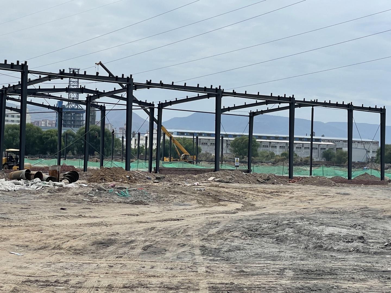 汇金国际智慧汽车城钢结构二期工程项目